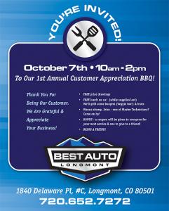 Best Auto Customer Appreciation Day BBQ